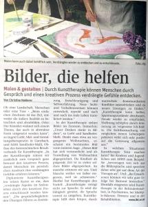 NÖN Bericht Kunsttherapie IKT